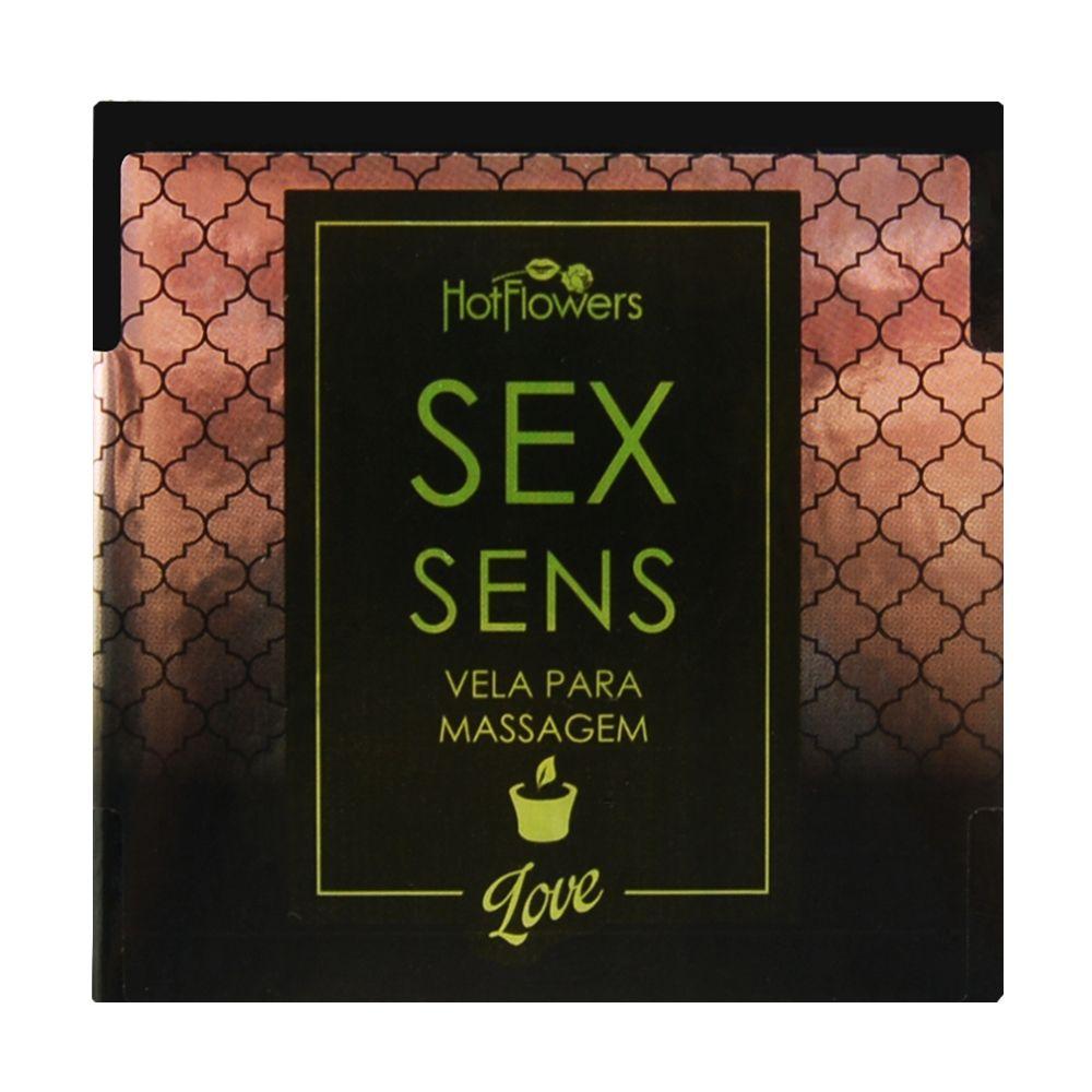 Sex Sens Vela Para Massagem Love   - RMCE BRAZIL