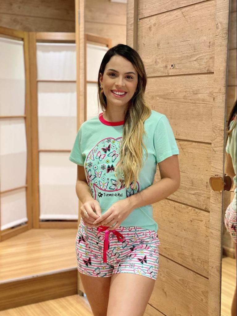 Short Doll Manga Curta Borboleta   - RMCE BRAZIL