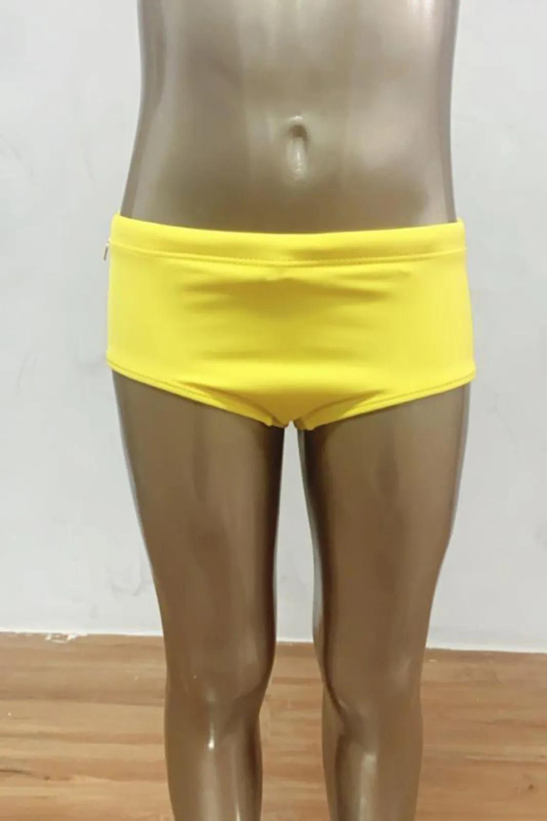Sunga/Sungão Infantil Lisa Amarelo  - RMCE BRAZIL