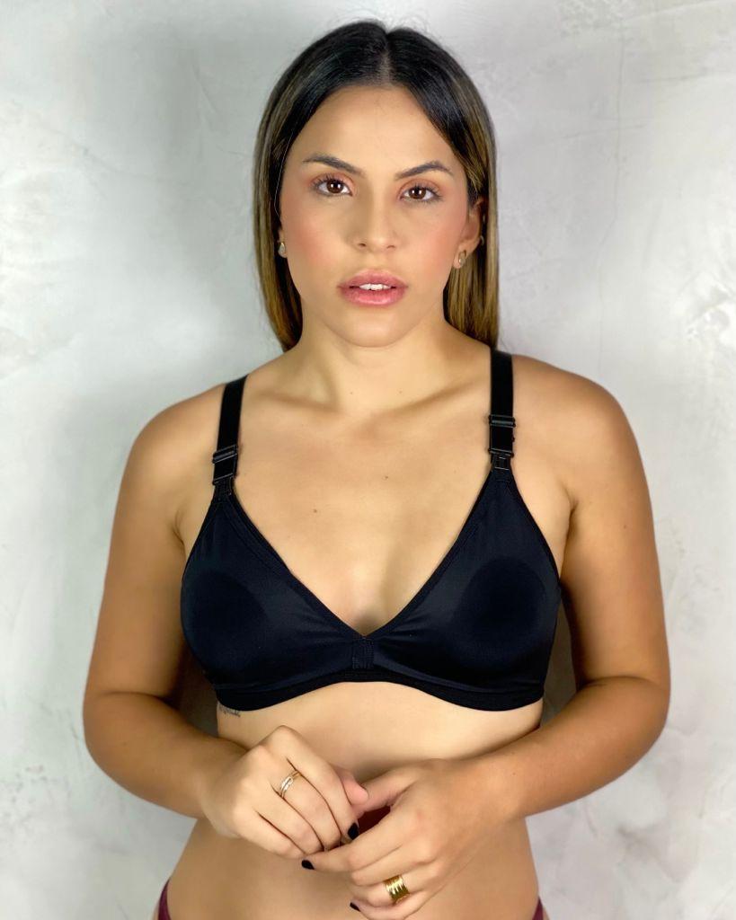 Sutiã Amamentação Preto  - RMCE BRAZIL