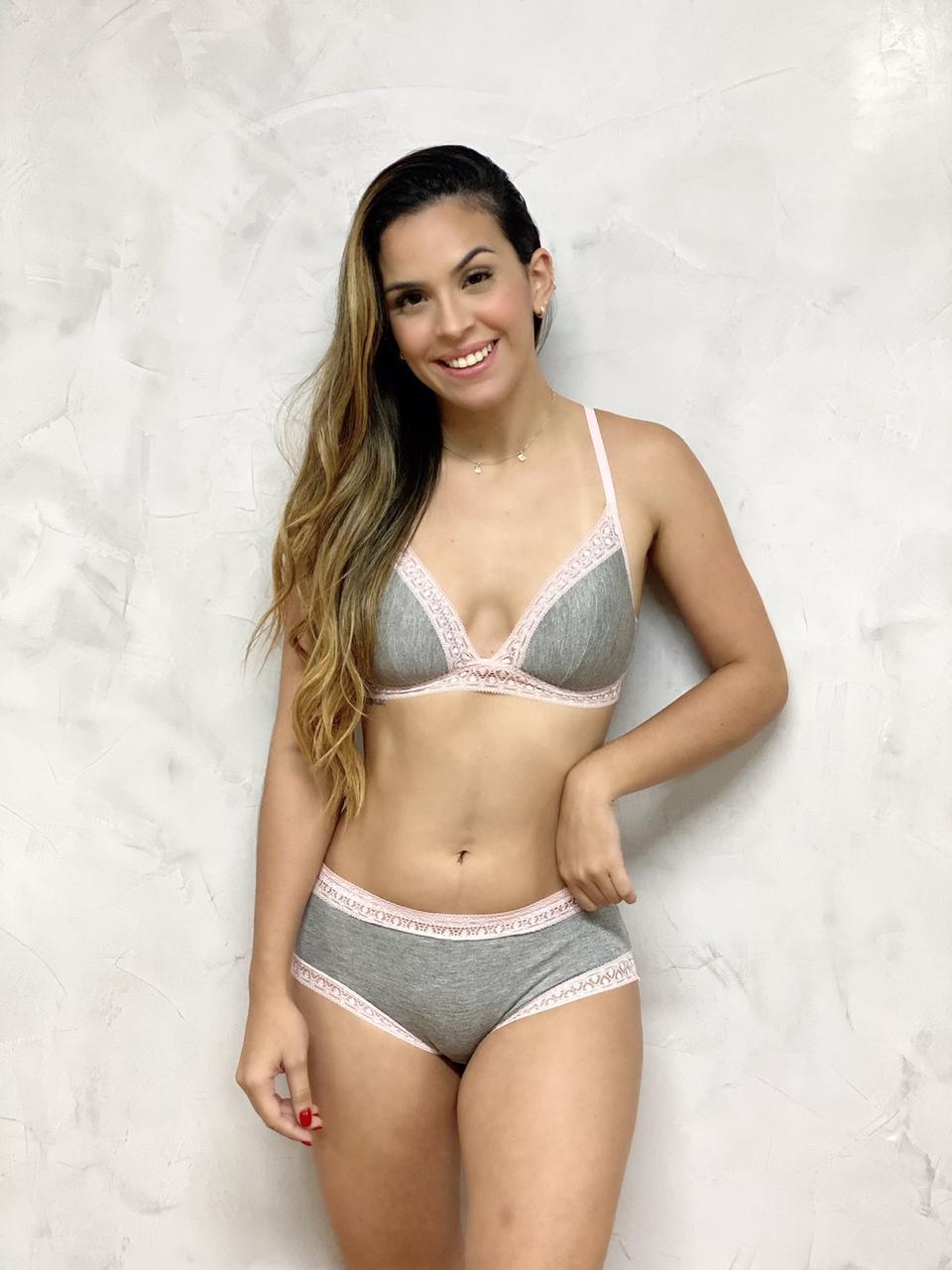 Sutiã Bojo Mesca Rosa  - RMCE BRAZIL