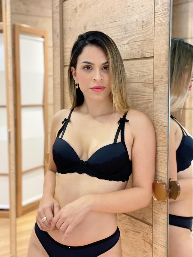 Sutiã Detalhe Alça   - RMCE BRAZIL