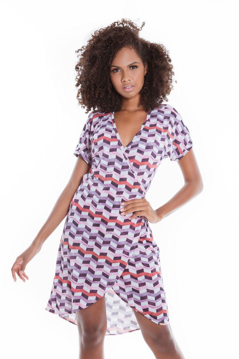 Vestido Envelope Mullet Infinite Marsala   - RMCE BRAZIL