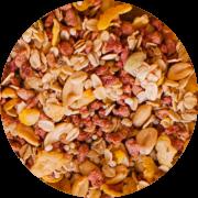 Caixa Granola Salgada Calabresa com Pimenta Caiena - 10kg