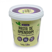 Caixa Pasta de Amendoim Coco Queimado 1,01kg - 8 unidades