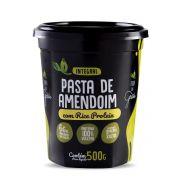 Pasta de Amendoim com Rice Protein