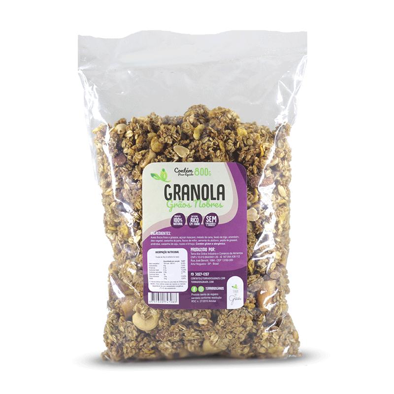 Caixa Granola Grãos Nobres Granel - 10kg