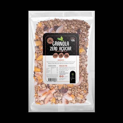 Caixa Granola Premium castanha e Coco Granel - 10kg