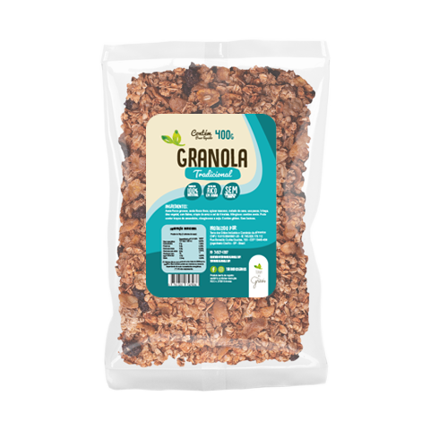 Caixa Granola Tradicional Granel - 10kg