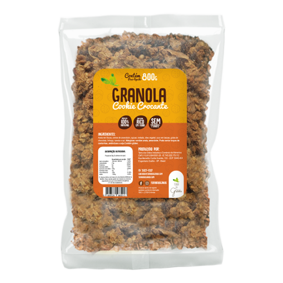 Granola Cookie Crocante