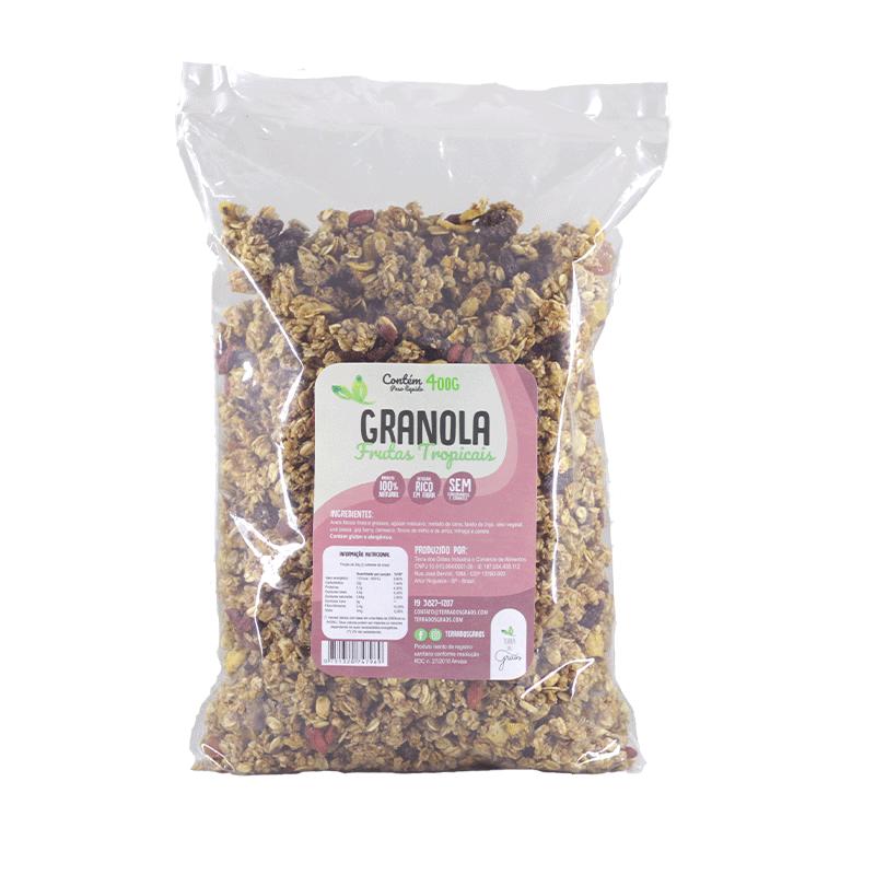 Granola Frutas Tropicais - 400g