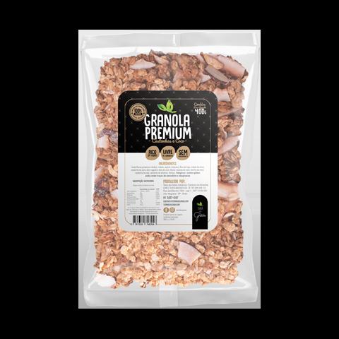 Granola Premium Castanhas e Coco