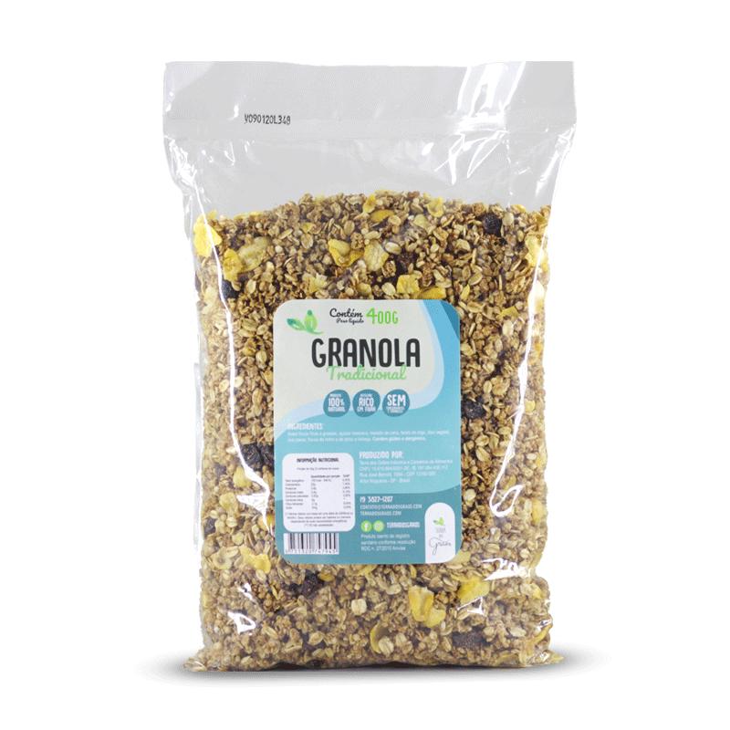 Granola Tradicional - 400g