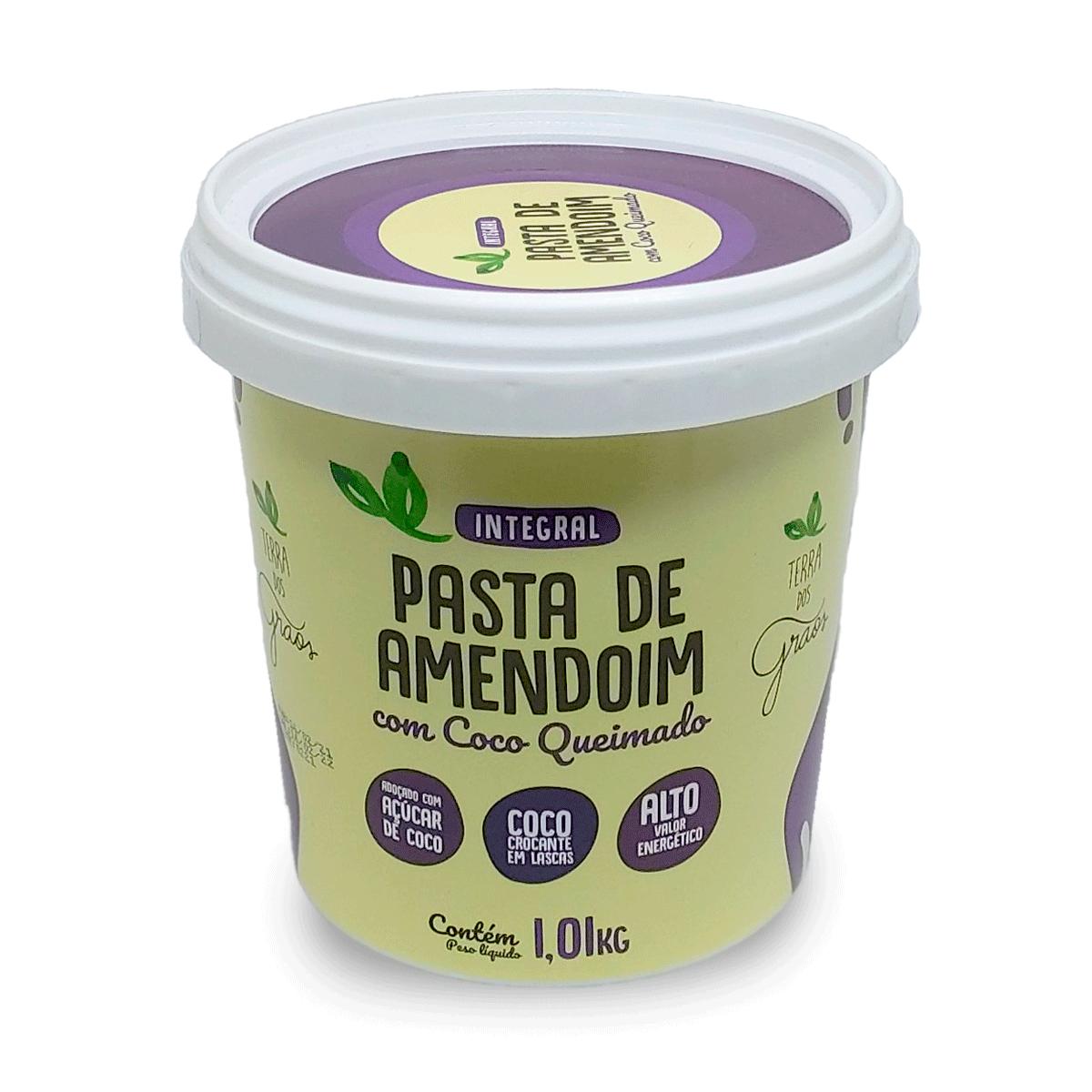 Pasta de Amendoim Coco Queimado 1,01kg