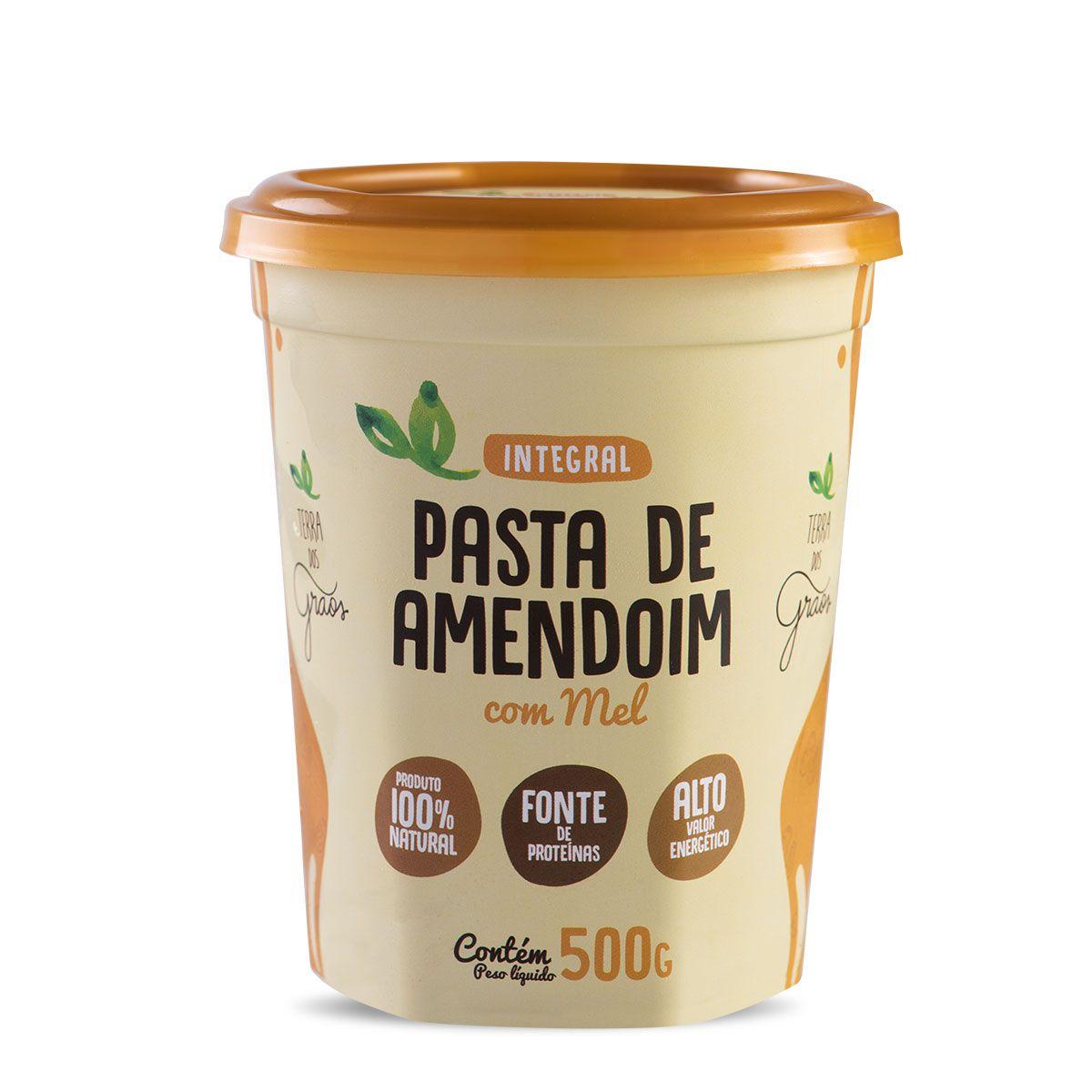 Pasta de Amendoim com Mel