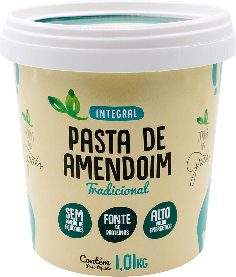 Pasta de Amendoim Tradicional 1kg