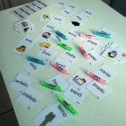 Prendendo as sílabas - trabalhando ortografia inversão de letras