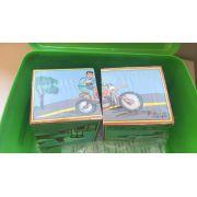 Quebra-Cabeça em Cubos: Meios de Transporte (2 cubos)
