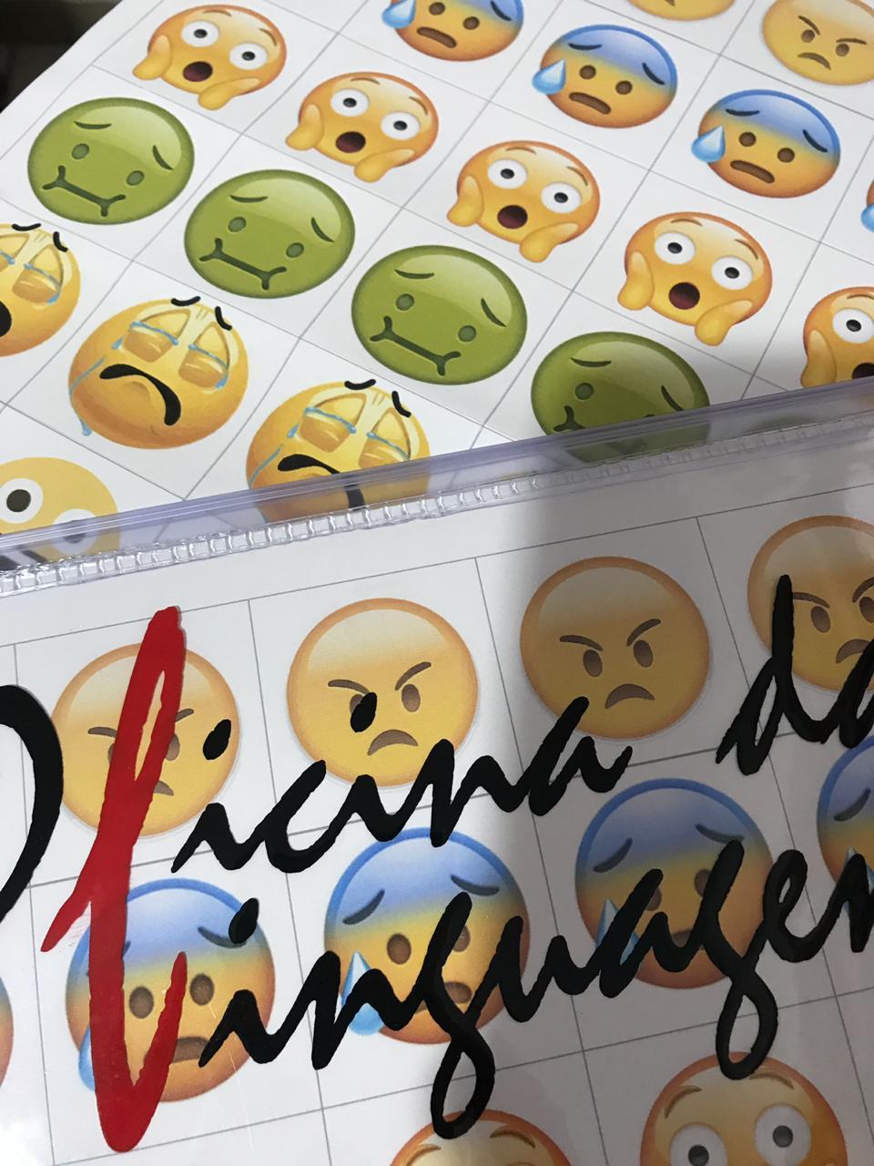 Adesivo de Emojis - Faça você mesmo!