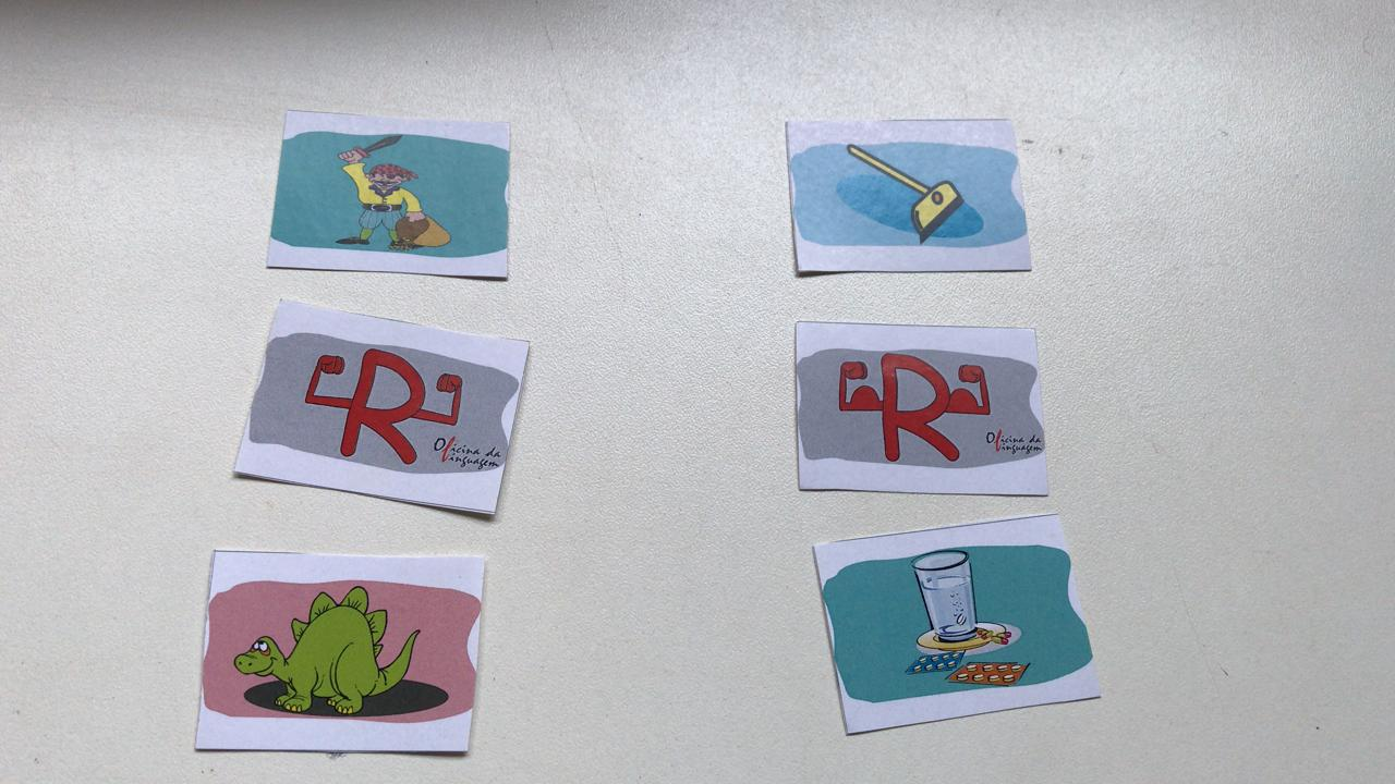 Figurinhas de Fonemas   /r/  /RR/
