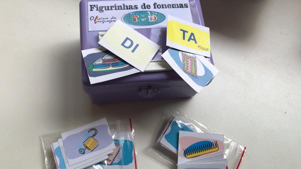 Figurinhas de Fonemas   /t/   /d/