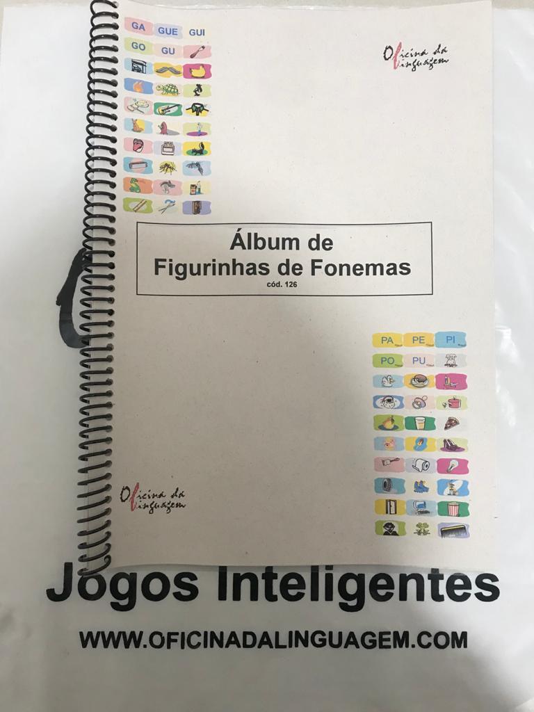 Fofurices: Álbum de Figurinhas de Fonemas
