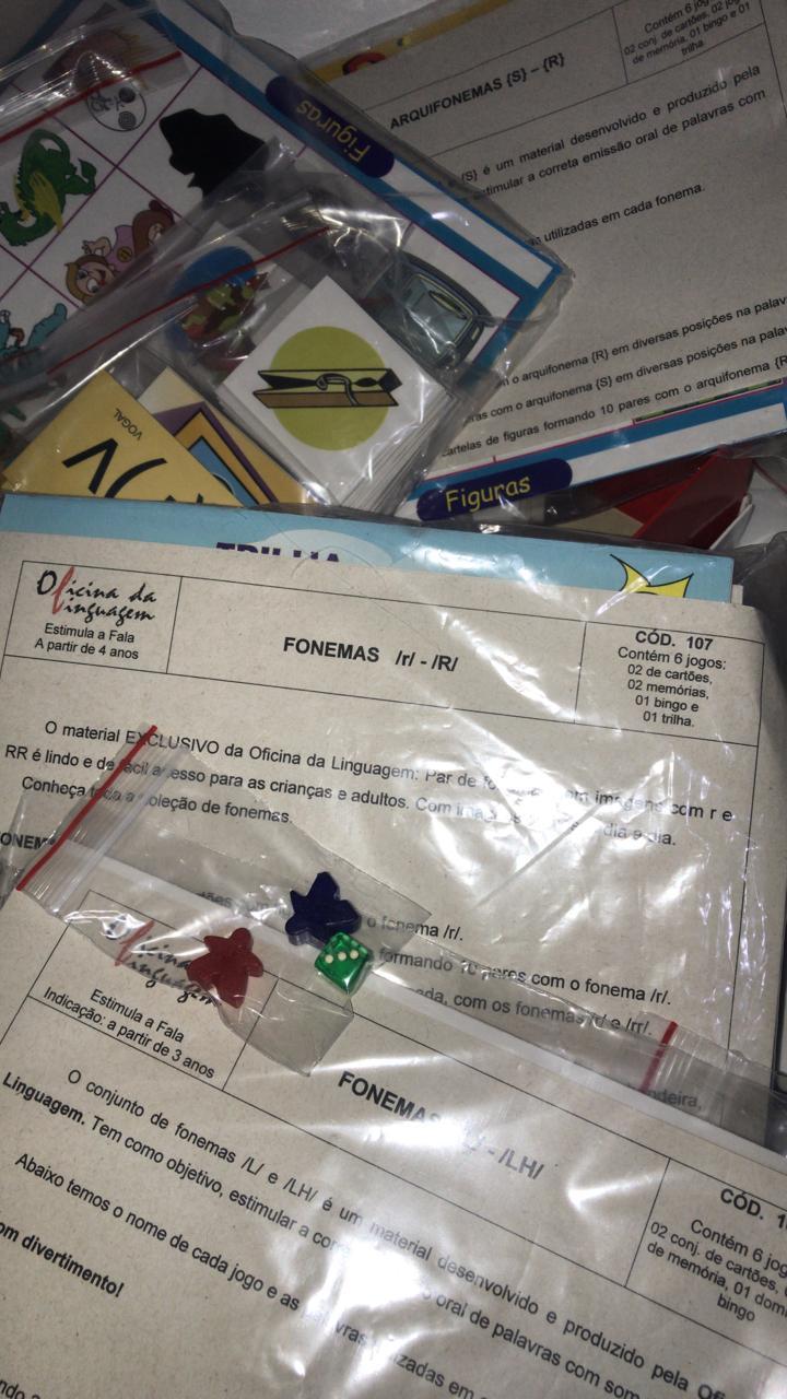 OL - Kit dos Fonemas laterais,vibrantes, arquifonemas e encontros r-l (r-R, l-lh,{r-s})