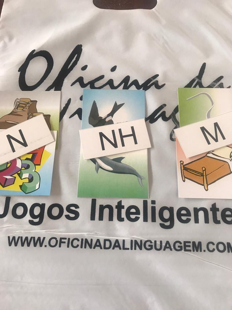 Fonemas Nasais /m/  /n/  /nh/ (06 jogos)