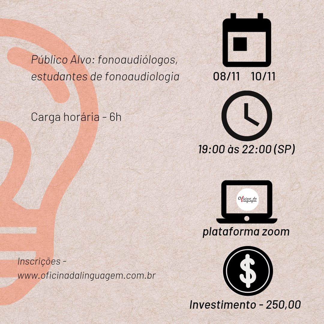 Fono Clínica, da avaliação a intervenção com Larissa Coutinho - AO VIVO