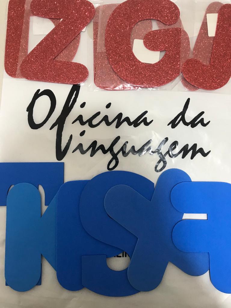 Letras com Pista Tátil Visual