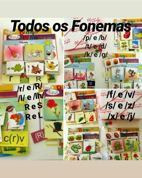 Todos os Fonemas - 3 Caixas