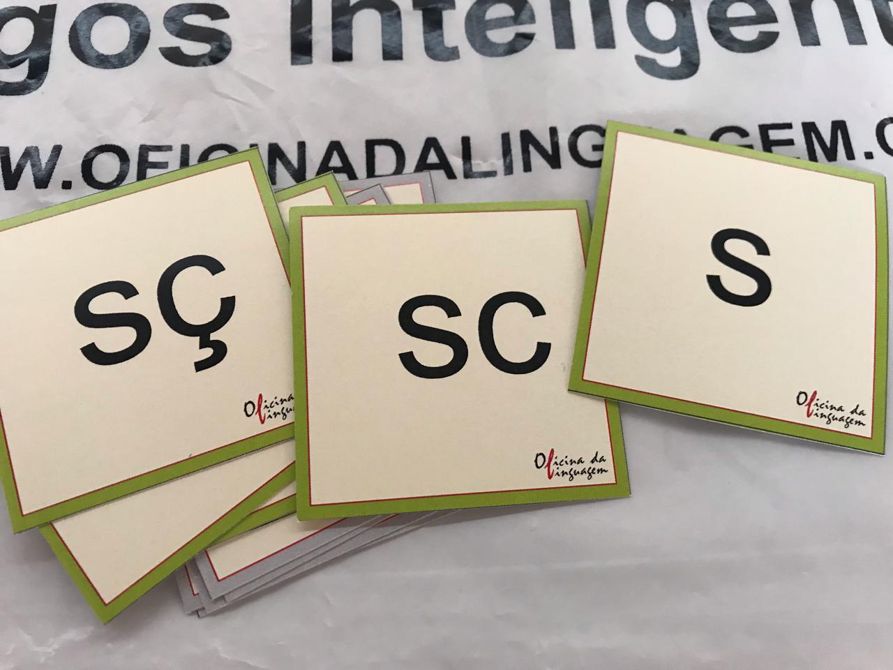 Trabalhando com ortografia: S, SS. Ç
