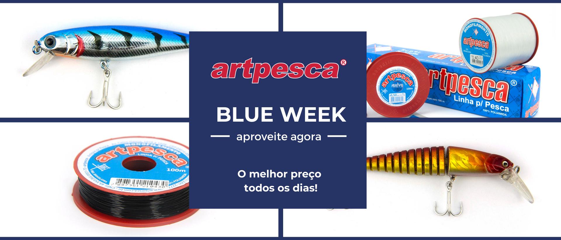 blue week artpesca