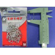 Anzol 12147 nº 2 - 50 unidades