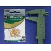 Anzol 16902 Crystal Dourado nº 10 - 50 unidades