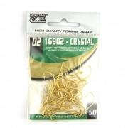 Anzol 16902 Crystal Dourado nº 2 - 50 unidades