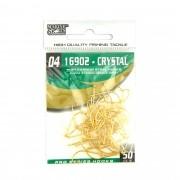 Anzol 16902 Crystal Dourado nº 4 - 50 unidades