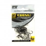 Anzol Chinu Black Nickel nº 2 - 50 unidades