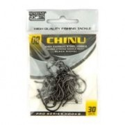Anzol Chinu Black Nickel nº 8 - 30 unidades