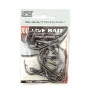 Anzol Live Bait Hook nº 11/0 - 10 unidades