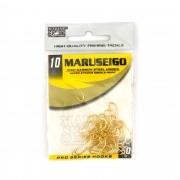 Anzol Maruseigo Gold nº 10 - 50 unidades