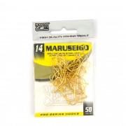 Anzol Maruseigo Gold nº 14 - 50 unidades