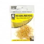 Anzol Maruseigo Gold nº 16 - 50 unidades