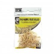 Anzol Maruseigo Gold nº 18 - 50 unidades
