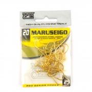 Anzol Maruseigo Gold nº 20 - 25 unidades