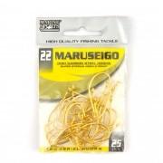 Anzol Maruseigo Gold nº 22 - 25 unidades