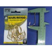 Anzol Maruseigo Gold nº 26 - 15 unidades