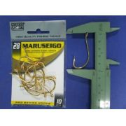 Anzol Maruseigo Gold nº 28 - 10 unidades