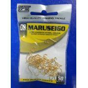 Anzol Maruseigo Gold nº 8 - 50 unidades