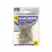 Anzol Maruseigo Nickel nº 16 - 50 unidades